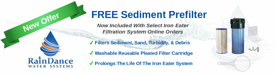 free sediment filter for well water
