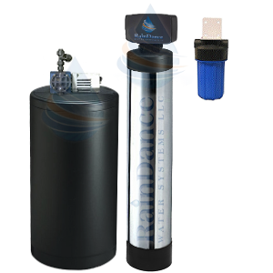 the 3 in 1 well water Iron Eater water softener